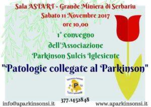 Si terrà sabato mattina, nella Sala Astarte della Grande Miniera di Serbariu, un convegno sulle patologie collegate al Parkinson.