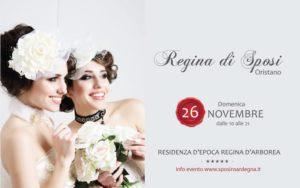 """Arriva ad Oristano """"Regina di Sposi"""", l'evento che da anni a Cagliari corona il sogno d'amore di tante coppie di futuri sposi."""