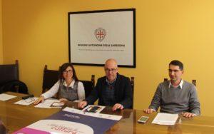 """Presentato stamane, nella sede dell'assessorato della Cultura, a Cagliari, il programma della manifestazione """"Una Miniera di Cultura"""", che sisvolgeràa Carbonia, dal 24 al 26 novembre."""