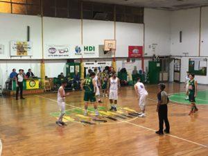 Prima sconfitta per la Sulcispes nella D di basket, 73 a 72 sul campo della Scuola Basket, a Cagliari.
