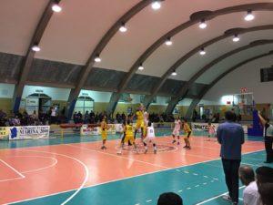 Seconda sconfitta consecutiva, prima casalinga, per la Sulcispes Sant'Antioco, con il Sinnai: 66 a 88 (primo tempo 27 a 48).