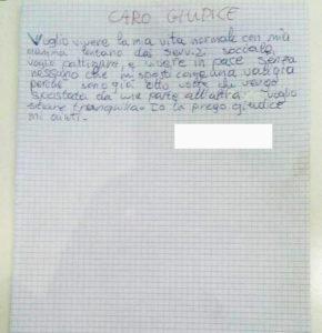 Ragazza di Padova deportata in comunità tra le montagne. Ritenuta colpevole di essere troppo ribelle ed attaccata alla mamma.