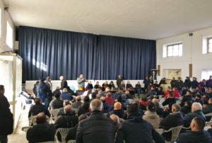 Il salone parrocchiale della chiesa di San Ponziano, ospiterà domani mattina, dalle 10.00, l'assemblea dei lavoratori ex Alcoa.
