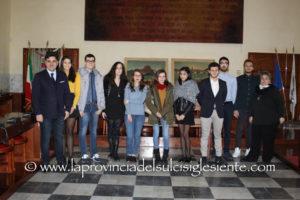 Si è svolta questo pomeriggio nella sala polifunzionale del comune di Carbonia, la cerimonia di premiazione degli studenti più meritevoli.