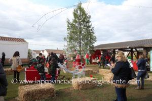 """E' stata inaugurata oggi, a Cannas di Sotto, alla periferia di Carbonia, la seconda edizione del """"Il Villaggio di Babbo Natale"""", organizzata dall'associazione culturale Sturmtuppen."""