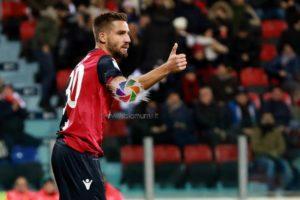 Il Cagliari con la Sampdoria dallo 0 a 2 al 2 a 2, goal ed emozioni alla Sardegna Arena.