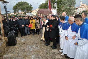 Questa mattina, a Stintino, monsignor Giovanni Angelo Becciu ha celebrato la messa per gli ottant'anni della parrocchia.