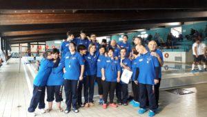 In occasione dei festeggiamenti per il 79° anniversario della fondazione della città, domenica10 dicembre si è svolta l'VIII Coppa di nuoto Città di Carbonia.