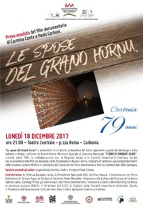 """Lunedì 18 dicembre 2017, alle 21.00, presso il Teatro Centrale di Carbonia, è in programma la prima assoluta del film documentario """"Le spose del Grand Hornu""""."""