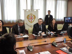 Il presidente del Consiglio regionale, Gianfranco Ganau, ha presentato stamane il consuntivo dell'attività svolta nel 2017.
