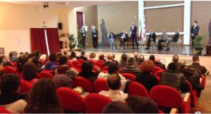 Il presidente Pigliaru ed il ministro dell'Interno Minniti a Nuoro in incontri sulla sicurezza degli amministratori locali e sull'accoglienza dei migranti.