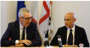 Giudizi positivi del senatore Silvio Lai e del deputato Emanuele Cani (Pd) sulla visita a Nuoro del ministro dell'Interno Marco Minniti.