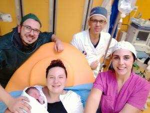 È Nicolò Camba il primo bimbo nato nel 2018 al Policlinico Duilio Casula di Cagliari.