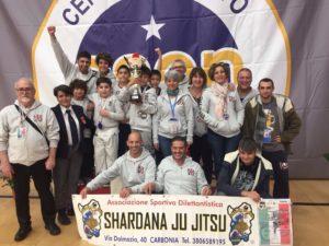 Si è conclusa con nuovi successi la stagione sportiva 2017 della palestra ASD Shardana Ju Jitsu.