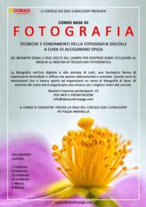 Il fotografo naturalista Alessandro Spiga e il Circolo Soci Euralcoop organizzano, a Carbonia, un corso di fotografia di base.