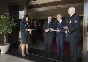 Stamane, alla presenza del presidente della Repubblica Sergio Mattarella, a Villa Devoto la sala Giunta è stata intitolata a Emilio Lussu.
