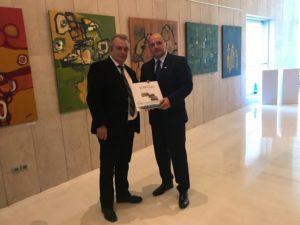 Il comune di Stintino ha presentato all'ambasciatore slovacco a Roma il progetto sulle commemorazioni del centenario della Prima Guerra Mondiale.