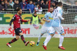 Cagliari, missione compiuta! I rossoblu superano la Spal, 2 a 0, e portano a 7 i punti di vantaggio sul terz'ultimo posto.