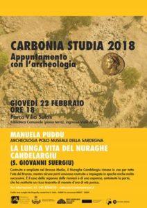 "Al via giovedì 22 febbraio la rassegna ""Carbonia studia""."