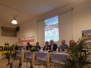 E' stato presentato stamane ad Arbus il 1° Rally del Parco Geominerario della Sardegna.