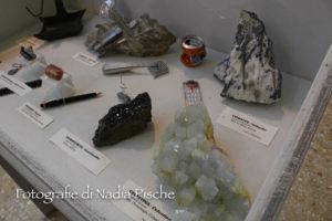 """E' visitabile sino alla fine di febbraio, alla Grande Miniera di Serbariu, la mostra """"Tesori del sottosuolo, minerali e loro utilizzo""""."""