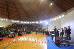 Il candidato premier del Movimento 5 Stelle ha aperto la campagna elettorale a Cagliari, Carbonia e Nuoro.