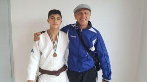 Per l'atleta sassarese Marco Battino debutto alla Coppa europea di Judo a Follonica.