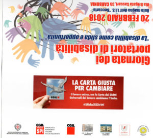 """E' in programma martedì 20 febbraio, all'Istituto""""Beccaria"""" di Carbonia,la """"Giornata dei portatori di disabilità""""."""