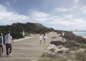 E' stato illustrato questa mattina, a Stintino, il progetto definitivo per la spiaggia della Pelosa.
