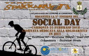 """E' in programma domenica 25 febbraio, a Carbonia, il """"Social Day 2018""""."""