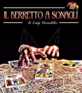 """Domenica 25 febbraio, dalle ore 19.00, nella sala Corpus della vecchia Tonnara di Portoscuso, andrà in scena """"Il berretto a sonagli"""", di Luigi Pirandello."""