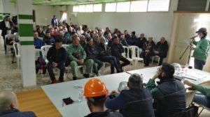 Domani, 27 maggio, si svolgerà l'assemblea generale dei lavoratori Eurallumina.