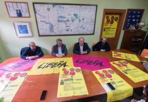 Il 21 marzo si svolgerà ad Alghero la manifestazione regionale della XXIII Giornata della memoria in ricordo delle vittime innocenti delle mafie.