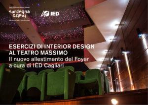 Prenderà avvio il 13 marzo il nuovo progetto di collaborazione fra l'Istituto Europeo di Design di Cagliari e Sardegna Teatro.