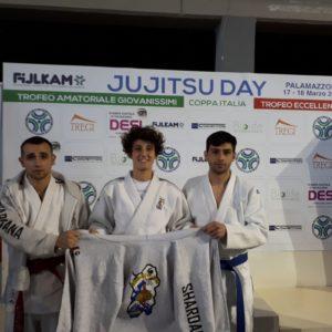 Brillanti risultati degli atleti della società Shardana Jujitsu Carbonia al Jujitsu Day Coppa Italia/ Trofeo Eccellenza Fijlkam 2018.