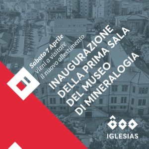 """Verrà inaugurato sabato 7 aprile il nuovo allestimento della prima sala dello storico Museo di Mineralogia dell'Istituto Minerario """"Giorgio Asproni"""" di Iglesias."""