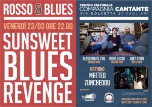 """Dopo il grande risultato di pubblico e gradimento raggiunto nei primi tre concerti, il Rosso&Blues riparte di slancio, proponendo una serata blues tutta """"Made in Sardinia""""."""