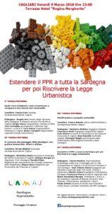 Venerdì pomeriggio, a Cagliari, L.A.M.A.S., Paesaggio Gramsci, SardegnaSoprattutto faranno il punto dei seminari sull'urbanistica.