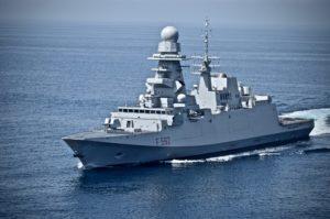 Oggi la Fregata Europea Multi Missione (FREMM) Carlo Margottini della Marina Militare è arrivata nel porto di Dammam, in Arabia Saudita, dove sosterà fino al 23 marzo.