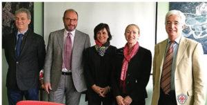 La vice ambasciatrice degli Stati Uniti ha visitato la Carbosulcis nell'ambito del progetto Aria.