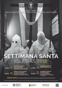 Si è svolta questa mattina, a Iglesias, la conferenza stampa di presentazione dei Riti della Settimana Santa 2018.