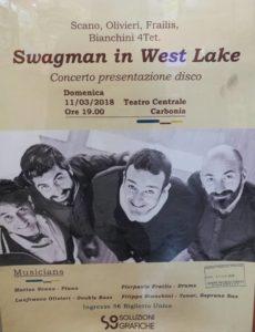 Domenica 11 marzo il Teatro Centrale di Carbonia ospiterà il concerto jazz del trio Scano-Olivieri-Frailis.