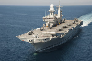 La squadra navale della Marina Militare ha concluso un addestramento nel Golfo di Taranto.