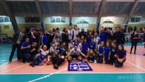 La VBA/Olimpia Sant'Antioco ha concluso brillantemente il campionato di serie B, con la terza vittoria consecutiva, al sesto posto, sul campo della Junior CDP Llves Roma.