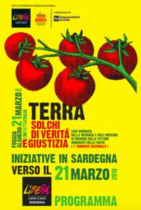 """A Cagliari, Gergei e Sassari, le iniziative """"Verso il 21 marzo"""" per parlare di mafie e criminalità organizzata."""
