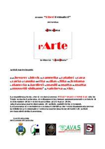 """Verrà inaugurata il 31 marzo alle 18.00, a Carbonia, la mostra collettiva di pittura """"""""sOttosOpra – l'arte in Libertà controllata""""."""