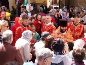 Grande attesa nella grande comunità immigrata proveniente dell'Europa Orientale, per la Pasqua cristiano ortodossa a Cagliari.