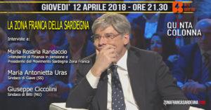 """Questa sera, nel programma """"Quinta Colonna"""", su Rete 4, si parlerà della zona franca della Sardegna."""