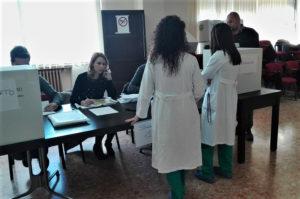 All'Aou di Sassari è tutto pronto per l'appuntamento con le urne del 23 aprile.