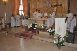 L'ospedale Santissima Annunziata di Sassari ha reso omaggio alla patrona.